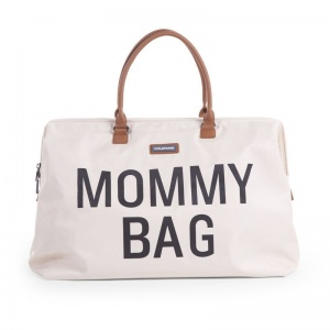 Torba podróżna Mommy Bag, beżowa - Childhome