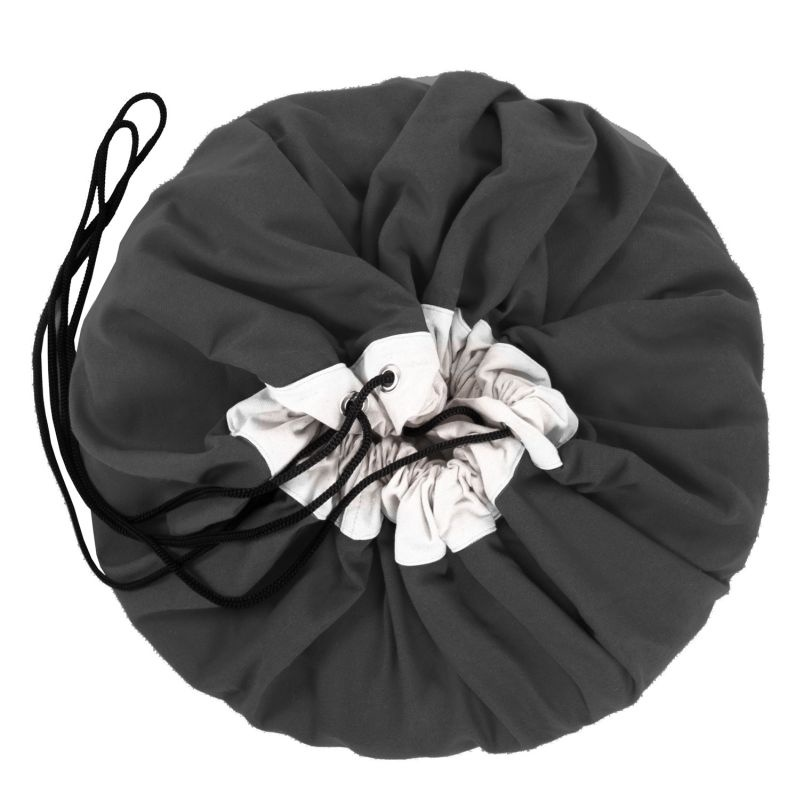 worek na zabawki mata do zabawy czarny play go krak w. Black Bedroom Furniture Sets. Home Design Ideas
