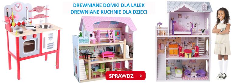 domki drewniane, domek drewniany dla lalek, kuchnia z drewna