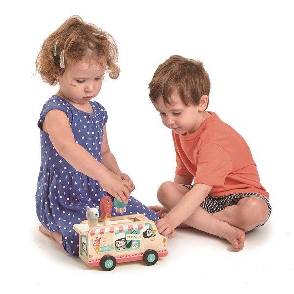 drewniana lodziarnia samochód z lodami Tender Leaf Toys