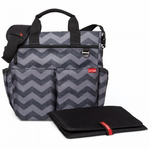 Torba do wózka Duo Signature Tonal Chevron - Skip Hop